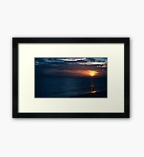 Sarasota Sunset Framed Print