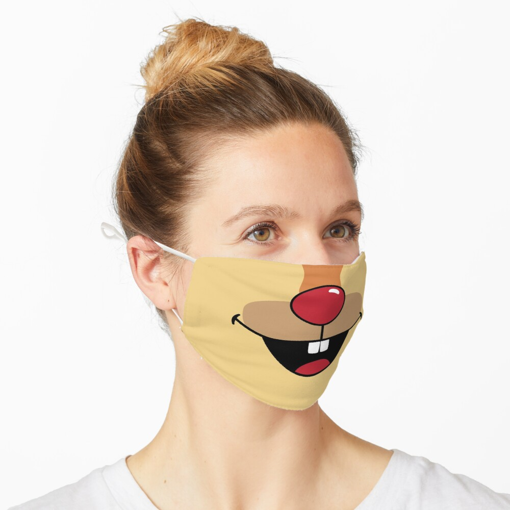 Squirrel-Chipmunk Face Mask Mask