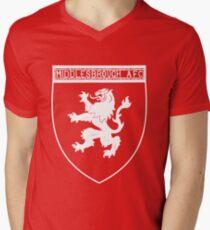 middlesbrough afc Men's V-Neck T-Shirt