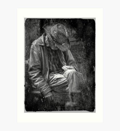 The Wandering Man Art Print