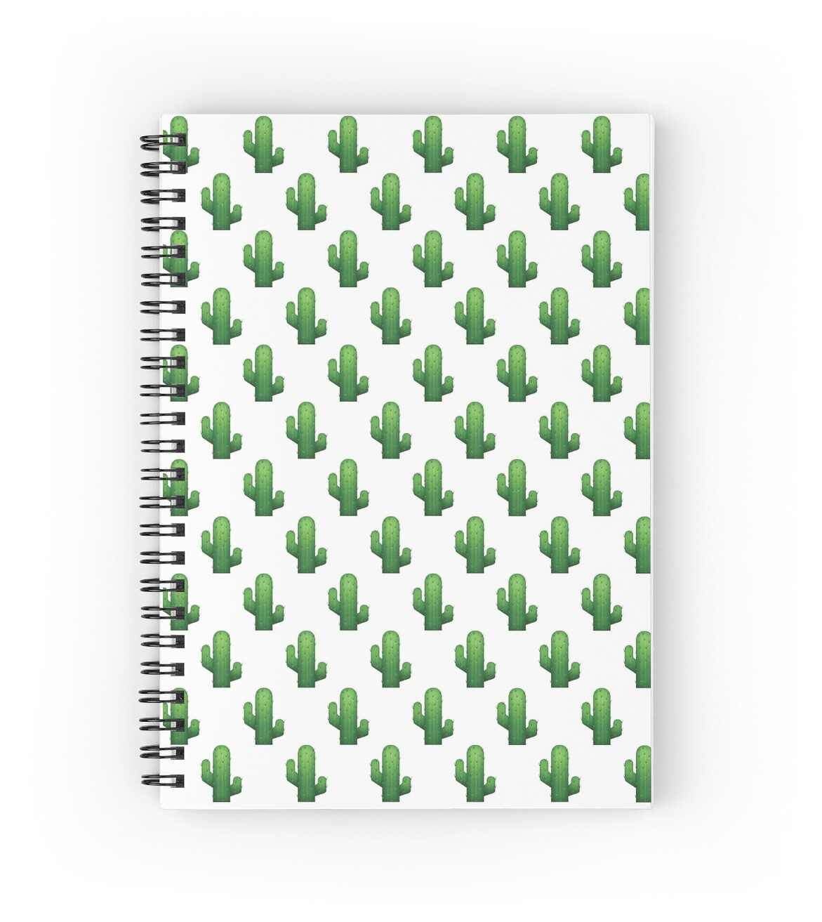 cactus emoji land spiral notebooks by gnarlynicole