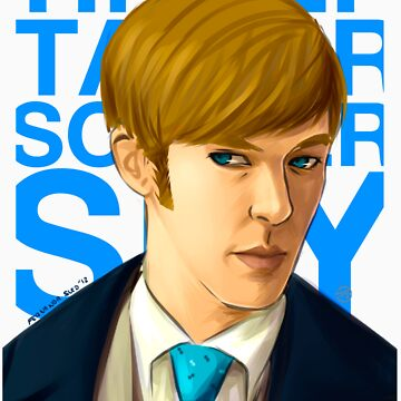Tinker Tailor Soldier Spy - Peter Guillam by punkypeggy