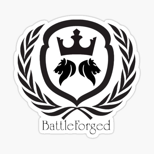 Battle Forged Sticker