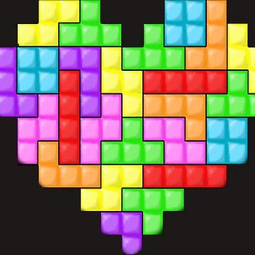 Tetris heart by Valooid