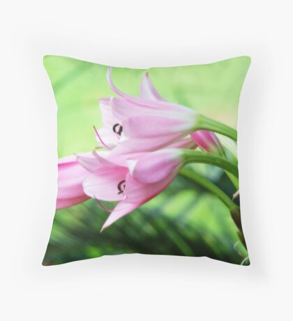 THE INDIGENOUS BELLADONNA  Throw Pillow