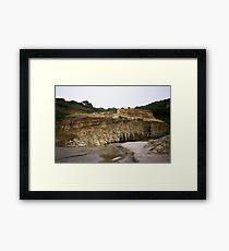 Ledge landscape Framed Print