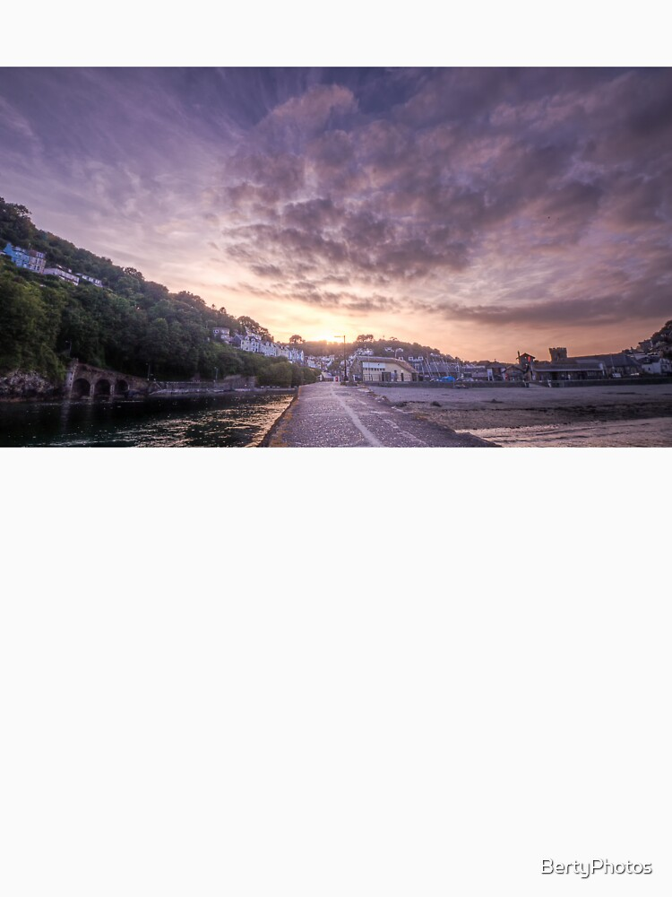 Banjo Sunset, Looe by BertyPhotos
