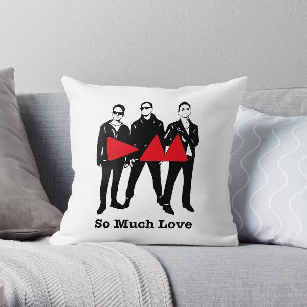 So Much Love Throw Pillow