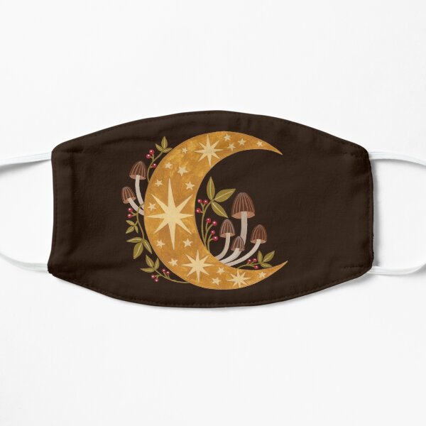 Forest moon Flat Mask