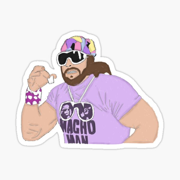 Macho Man Sticker
