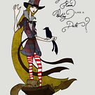 Mad Alice: Why is a Raven like a Writing Desk? by Barbora  Urbankova