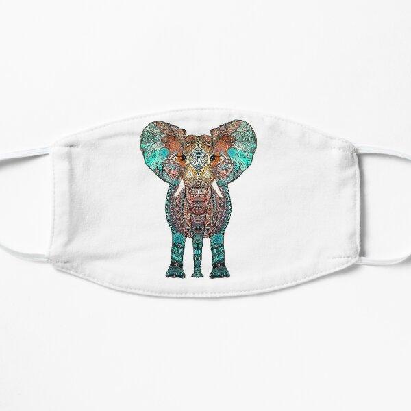 BOHO SUMMER ELEPHANT Flat Mask