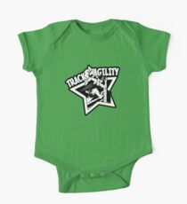 Track & Agility (Black/White) (Sticker version) One Piece - Short Sleeve