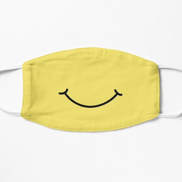 Smiley Face Smile Flat Mask