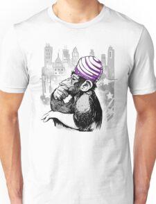 Evil Monkey Mojo Unisex T-Shirt