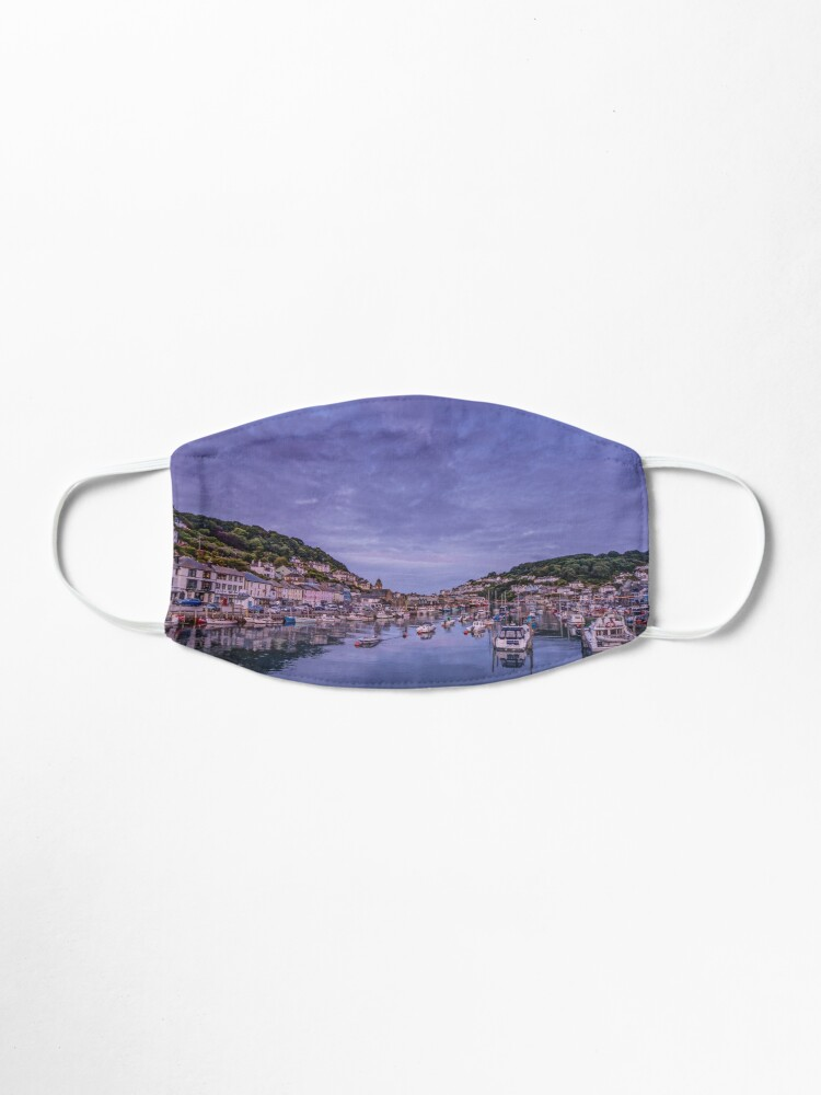 Alternate view of Looe at dusk Mask