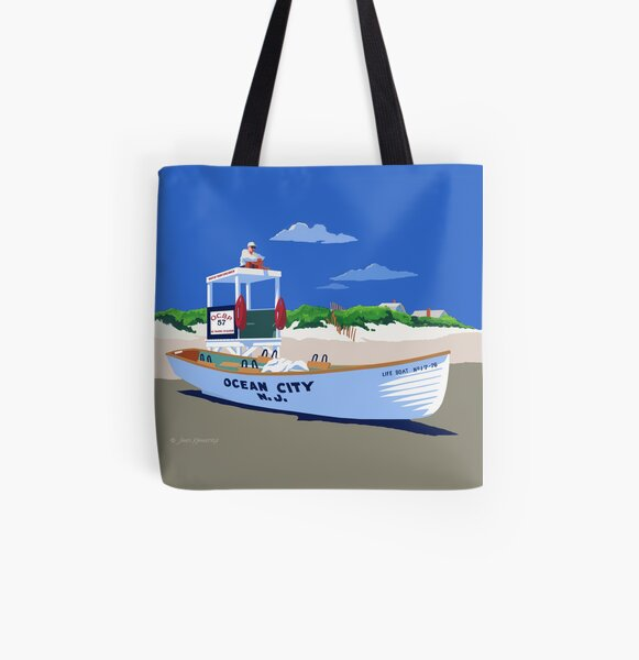 Life Guard On Duty All Over Print Tote Bag