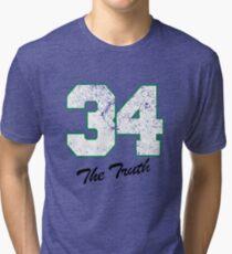 Celtics Numbers - The Truth no. 34 Tri-blend T-Shirt
