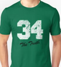 Celtics Numbers - The Truth no. 34 T-Shirt