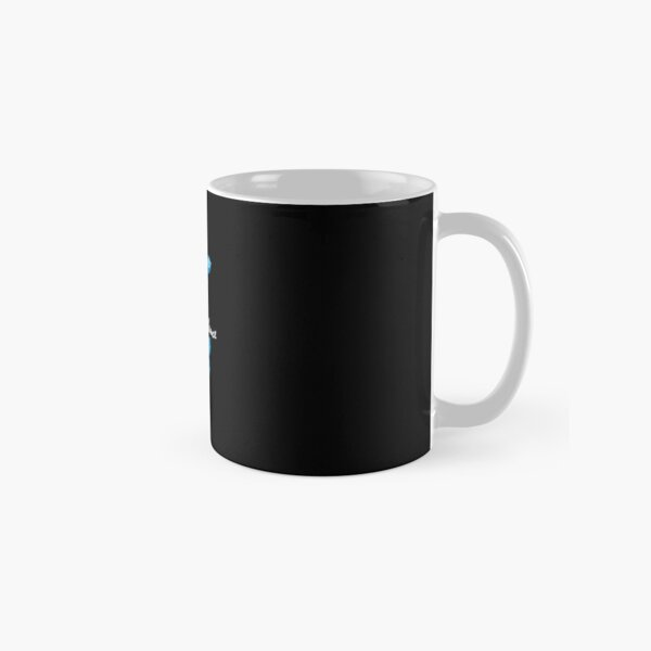 Enjoy The Silence - Blue Classic Mug