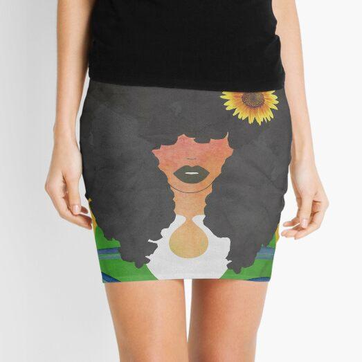 JOY AND SUNFLOWERS Mini Skirt