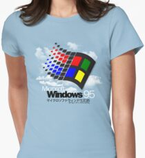 WINDOWS 95 Women's Fitted T-Shirt