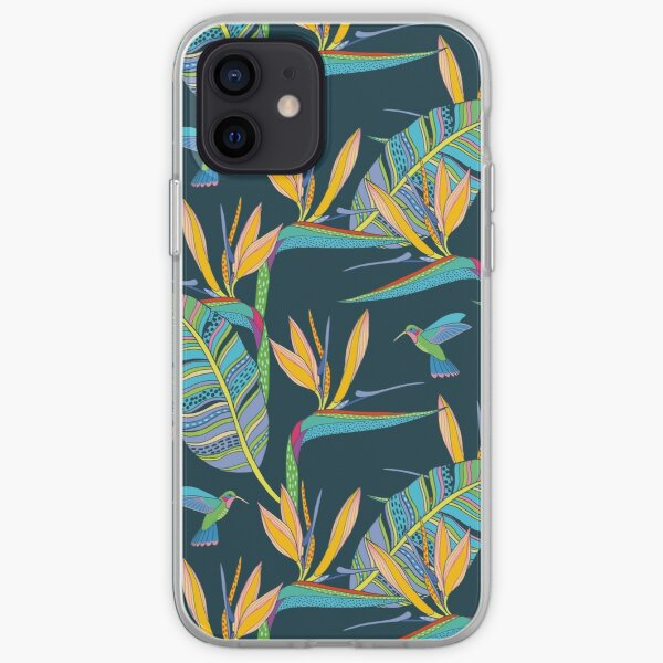 Bohemian Birds of Paradise iPhone Soft Case