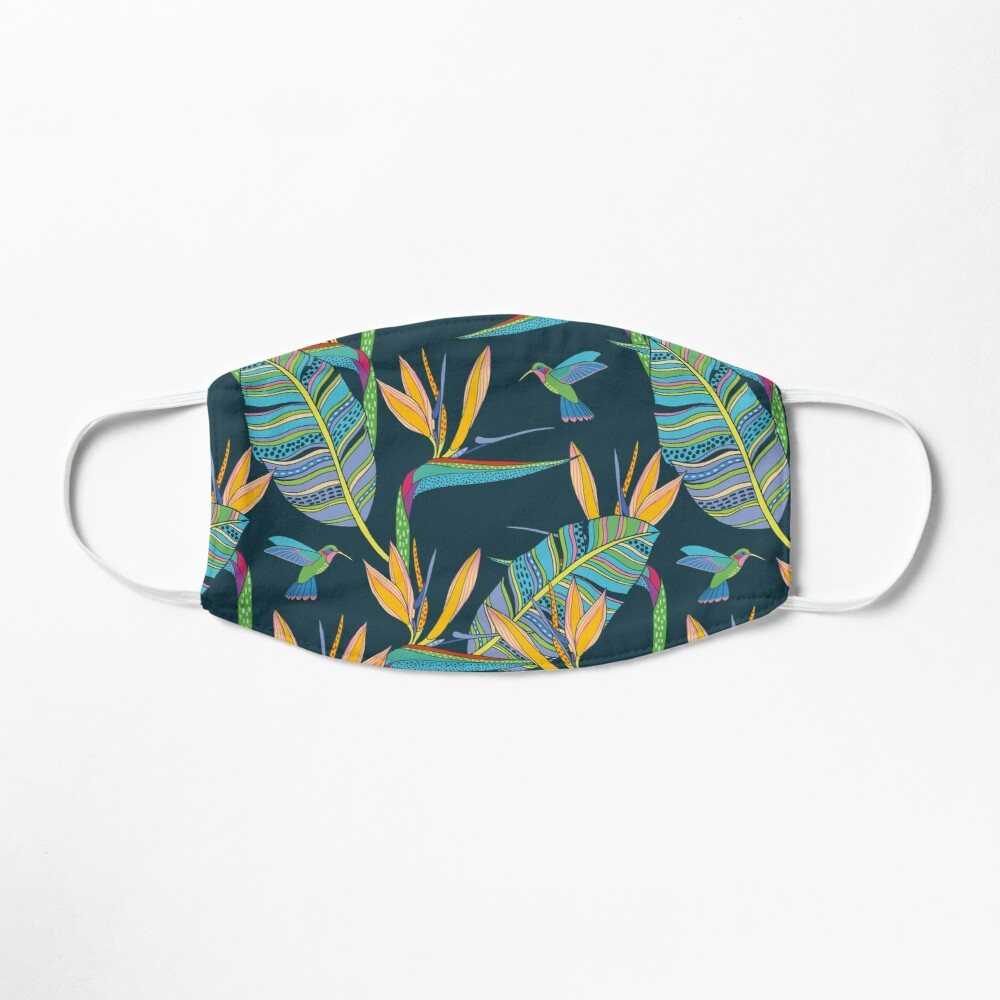 Bohemian Birds of Paradise Mask