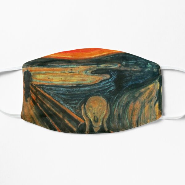 The Scream Painting by Edward Munch Mask