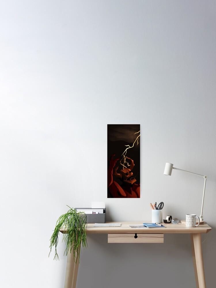 Medieval Demon Slayer Doom Eternal Fan Art Print Poster By