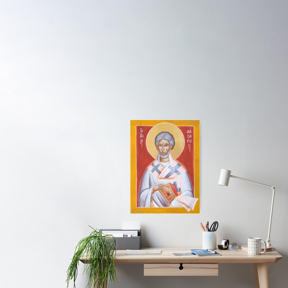 St Lazarus Poster