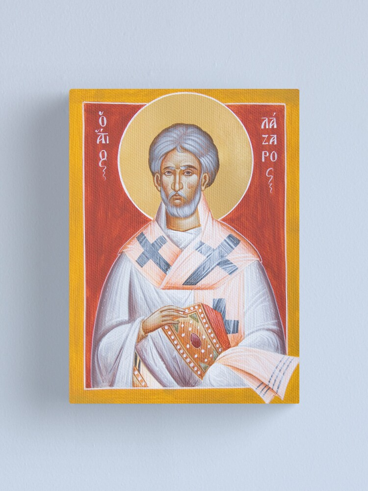 Alternate view of St Lazarus Canvas Print