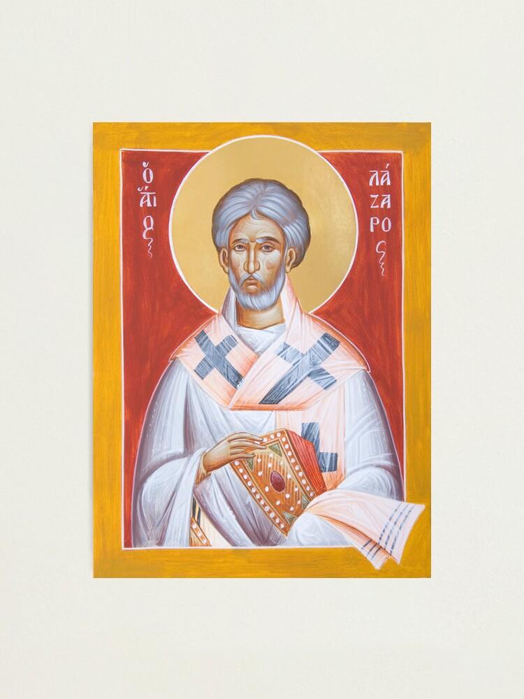 Alternate view of St Lazarus Photographic Print