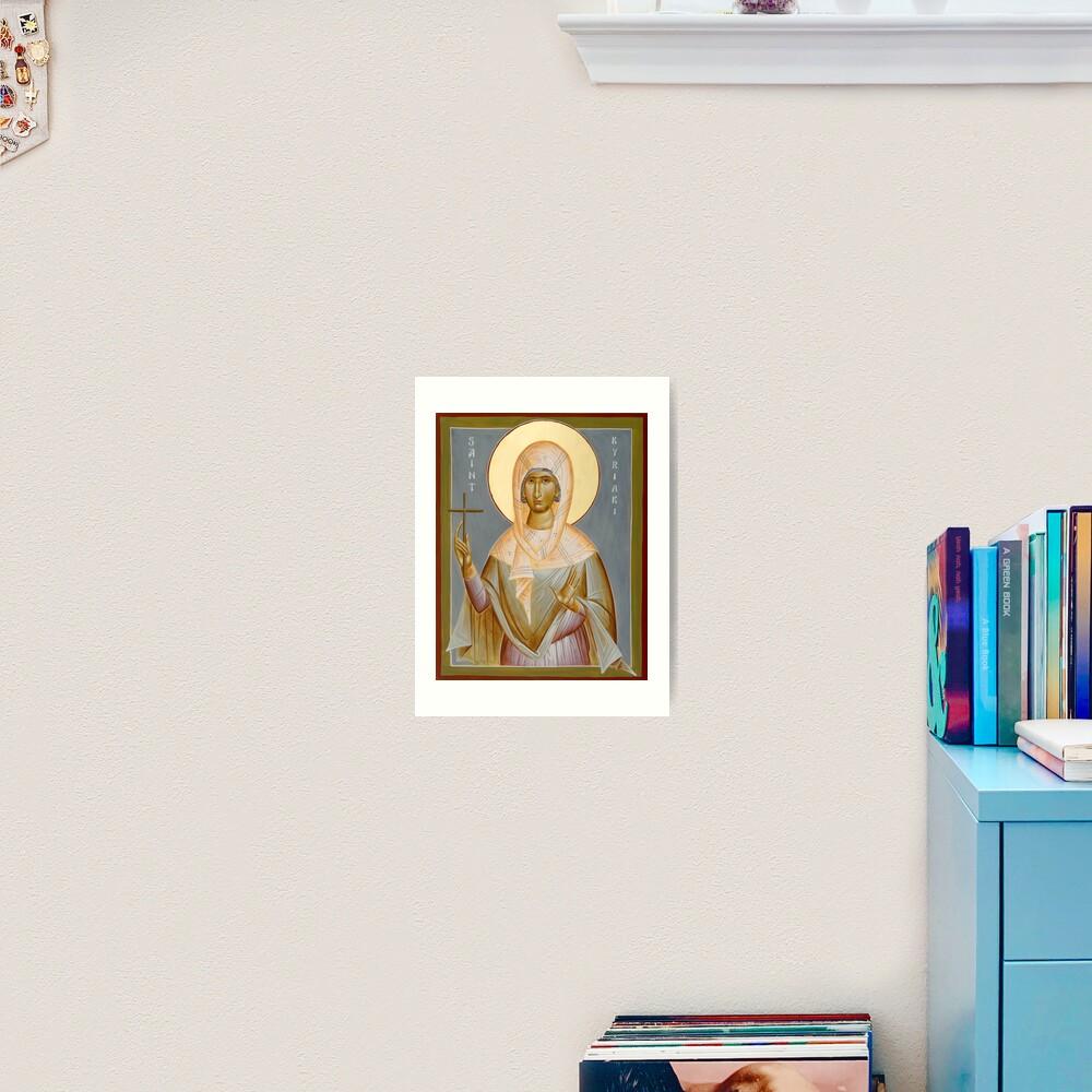 St Kyriaki Art Print