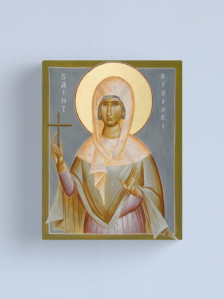 Alternate view of St Kyriaki Canvas Print