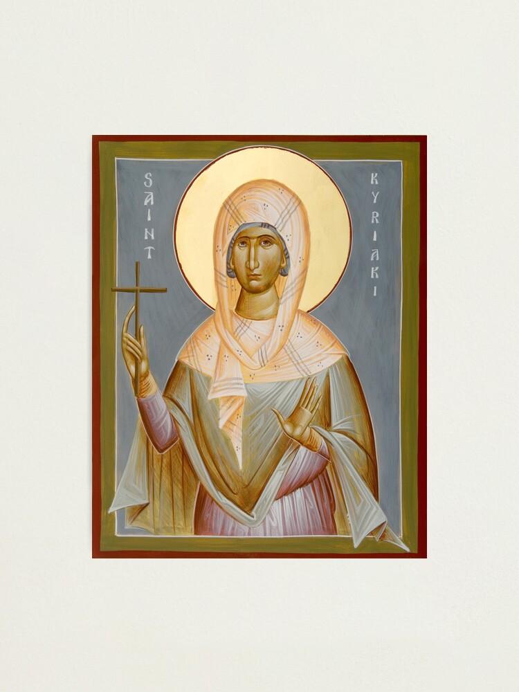 Alternate view of St Kyriaki Photographic Print