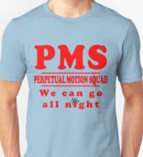 Camiseta unisex PMS - Escuadrón de Movimiento perpetuo
