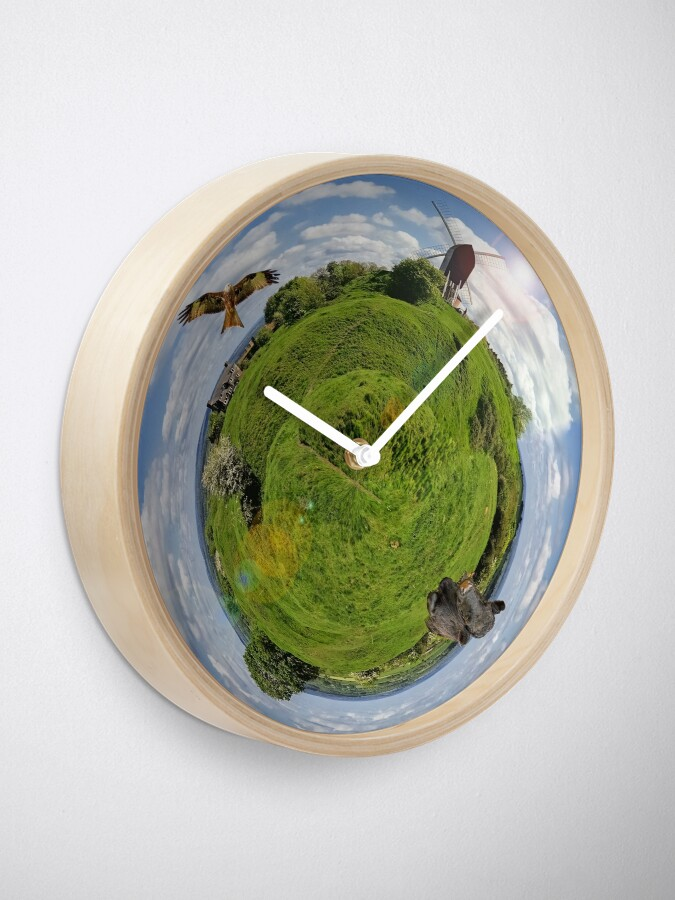 Alternate view of Brill Planet - Clock Only! Clock