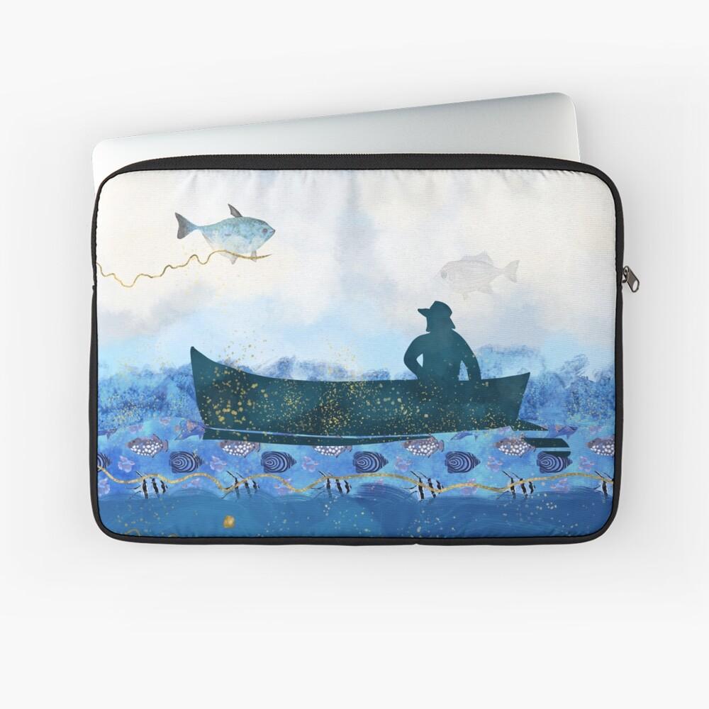 The Fisherman's Dreams Laptop Sleeve