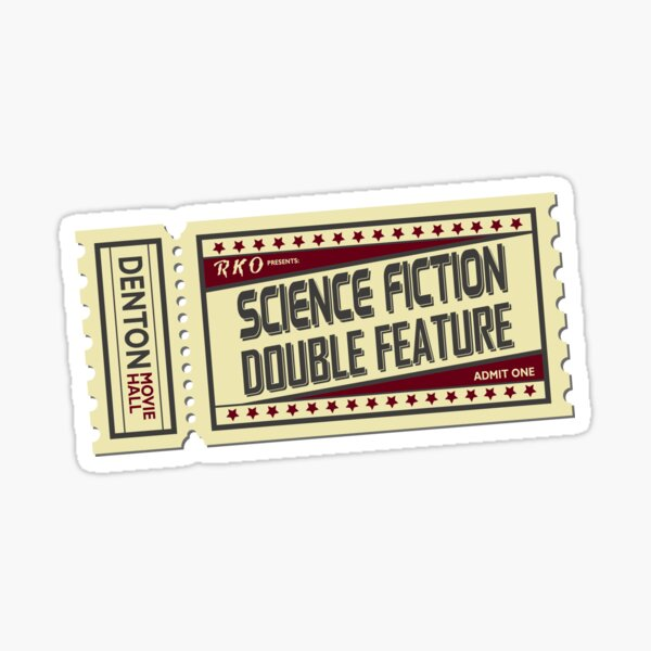 The Rocky Horror Picture Show - Science Fiction, Double Feature Sticker