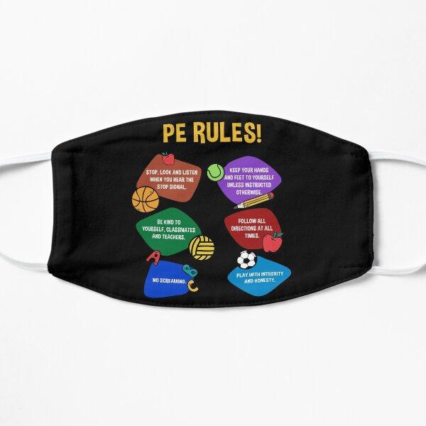 PE Physical Education Teacher Flat Mask