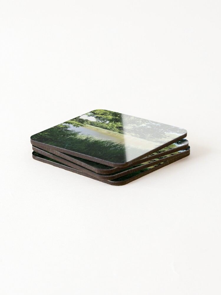 Alternate view of River Through the Trees Coasters (Set of 4)