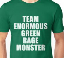 Team Enormous Green Rage Monster Unisex T-Shirt