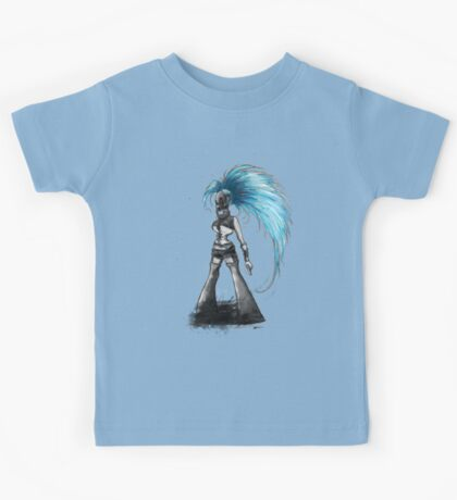 Rainbow Punk: Cybernetic Blue Kids Clothes