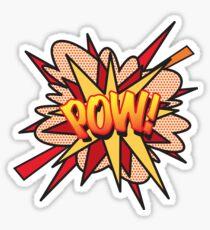 Comic Book POW! Sticker