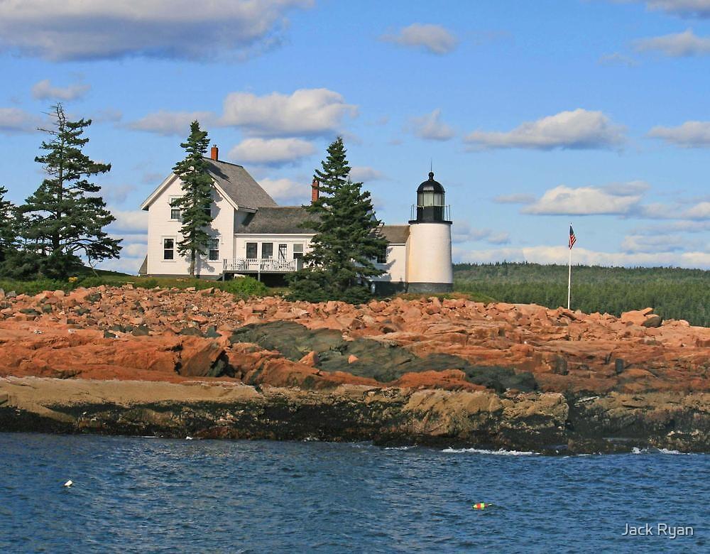 Winter Harbor Lighthouse by Jack Ryan