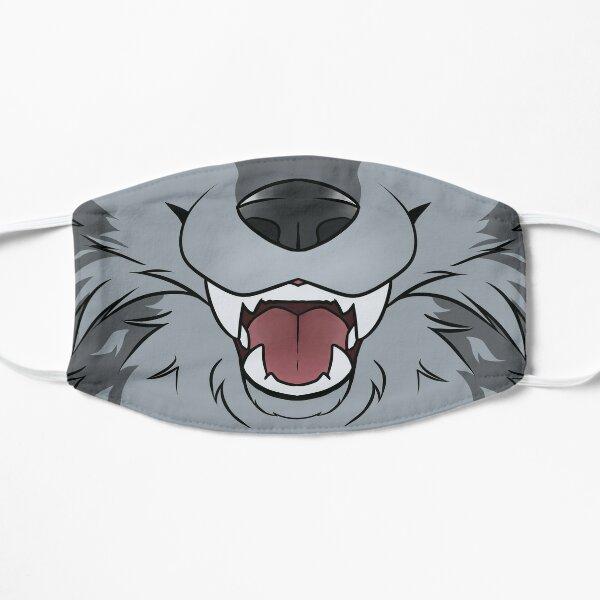 Grey Wolf Maw Masque sans plis