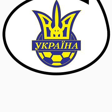 Ukraine Soccer / Football Fan Shirt / Sticker by funaticsport