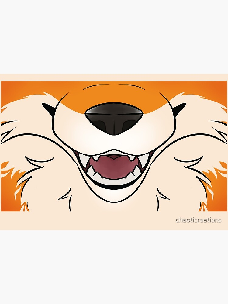 Red Fox Maw by chaoticreations