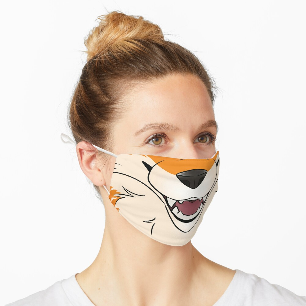 Red Fox Maw Mask